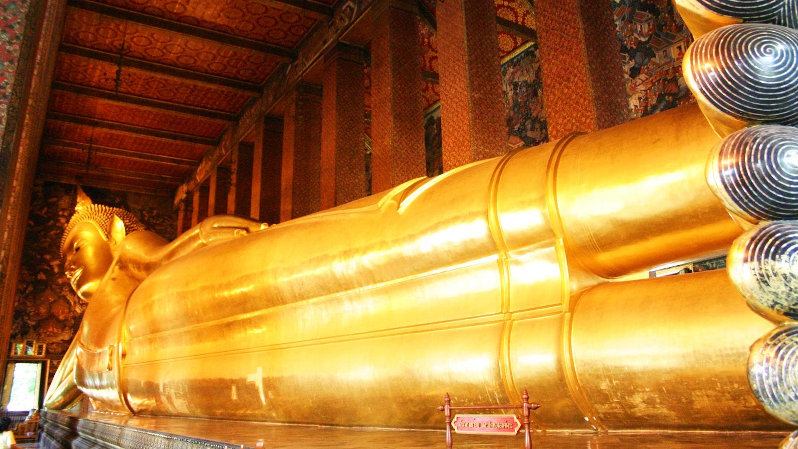 Wat Pho - Temple of Reclining Buddha